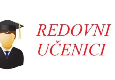RASPORED ODRŽAVANJA ISPITA ZA REDOVNE UČENIKE U JANUARSKO-FEBRUARSKOM ISPITNOM ROKU ŠKOLSKE 2020/2021 GODINE